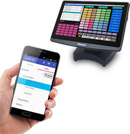 Uniwell Phoenix handheld ordering point of sale Sydney